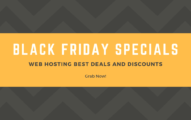 Black Friday Web Hosting Deals 2020 [Up to 99% OFF + Free Domain + Free SSL]
