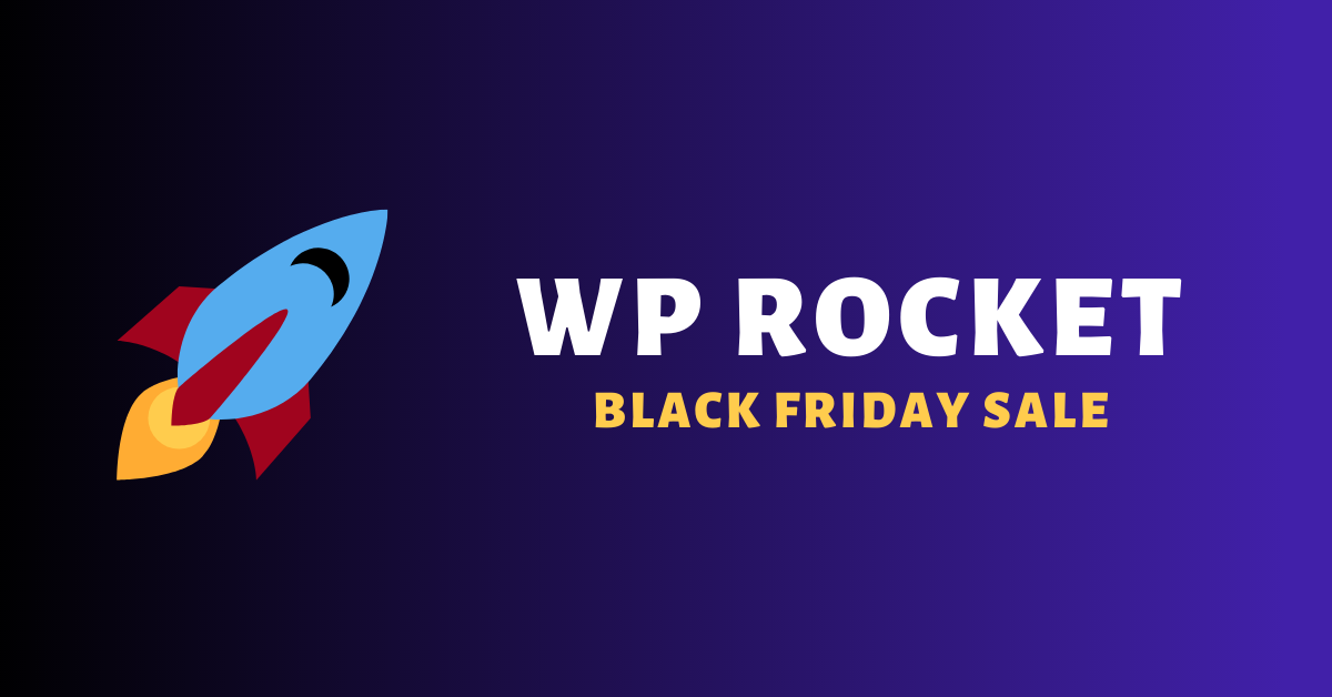 wp rocket black friday cyber monday