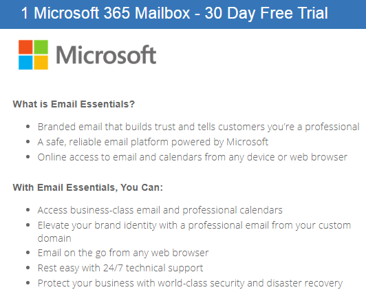bluehost ms office 365 mailbox
